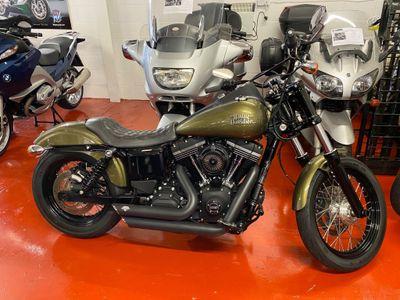 Harley-Davidson Dyna Custom Cruiser 1690 FXDB Street Bob Custom Cruiser