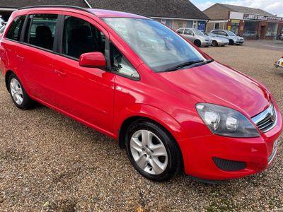 Vauxhall Zafira MPV 1.8 16V Exclusiv 5dr