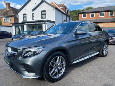 Mercedes-Benz GLC Class Coupe 3.0 GLC350d V6 AMG Line (Premium Plus) G-Tronic 4MATIC (s/s) 5dr