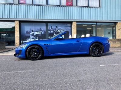 Maserati GranCabrio Convertible 4.7 V8 MC MC Shift 2dr EU5