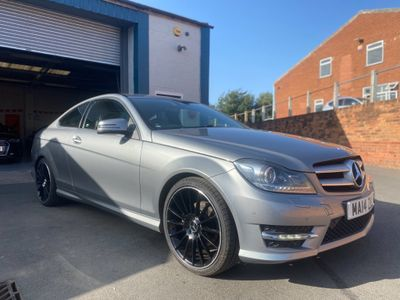 Mercedes-Benz C Class Coupe 2.1 C250 CDI AMG Sport 2dr