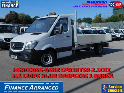 Mercedes-Benz Sprinter Dropside 2.1CDI 313 130PS XLWB DROPSIDE 1 OWNER
