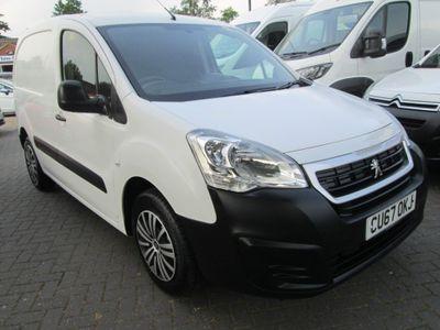 Peugeot Partner Panel Van 1.6 BlueHDi (Eu6) S L1 648 SWB 4dr