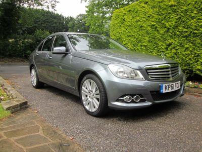 Mercedes-Benz C Class Saloon 2.1 C250 CDI BlueEFFICIENCY Elegance Edition 125 7G-Tronic 4dr