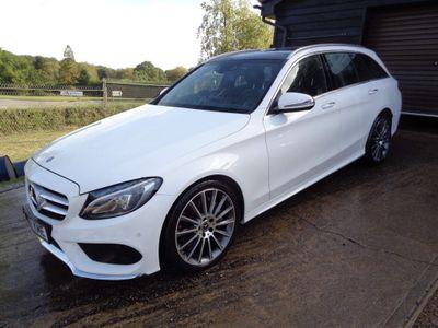 Mercedes-Benz C Class Estate 2.1 C250d AMG Line (Premium) G-Tronic+ 4MATIC (s/s) 5dr