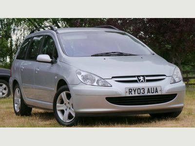 Peugeot 307 SW Estate 2.0 HDi S 5dr (a/c)