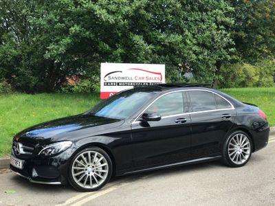 Mercedes-Benz C Class Saloon 2.1 C250d AMG Line (Premium Plus) G-Tronic+ (s/s) 4dr