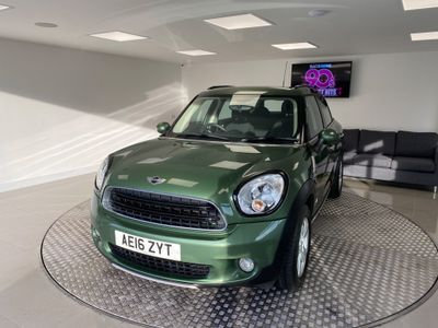 MINI Countryman SUV 1.6 Cooper D ALL4 ALL4 5dr