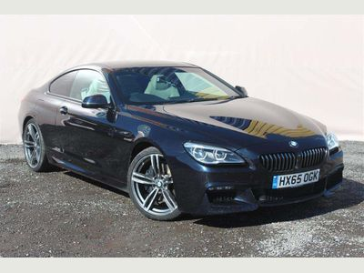 BMW 6 Series Coupe 3.0 640i M Sport Steptronic 2dr