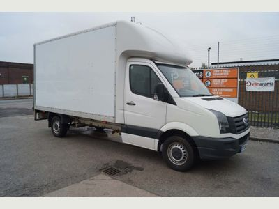 Volkswagen Crafter Luton 2.0TDI CR35 LUTON LWB WITH TAIL-LIFT
