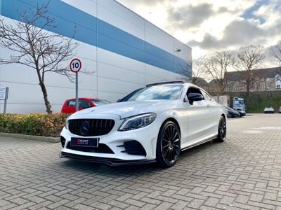 Mercedes-Benz C Class Coupe 3.0 C43 V6 AMG (Premium Plus) G-Tronic+ 4MATIC (s/s) 2dr