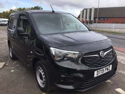 Vauxhall Combo Panel Van 1.6 Turbo D 2300 Edition L1 H1 EU6 4dr