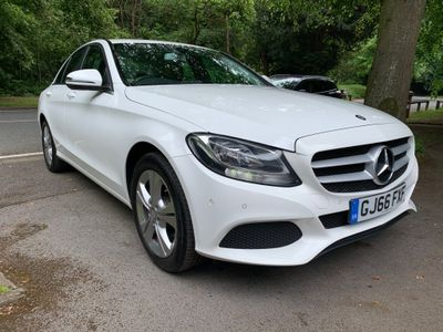 Mercedes-Benz C Class Saloon 2.1 C220d SE Executive Edition 7G-Tronic+ (s/s) 4dr