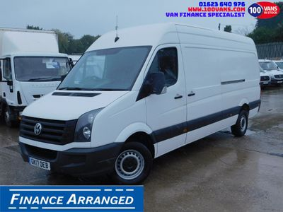Volkswagen Crafter Panel Van 2.0TDI BLUE MOTION 140PS LWB EURO 6