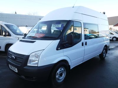 Ford Transit Panel Van 2.2TDCI T350 8 Seat Mess/Welfare Van