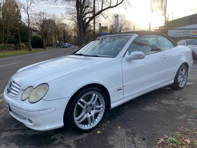 Mercedes-Benz CLK Convertible 5.0 CLK500 Elegance Cabriolet 2dr