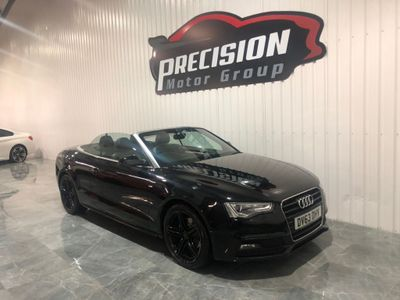 Audi A5 Cabriolet Convertible 2.0 TDI S line Special Edition Cabriolet Multitronic 2dr