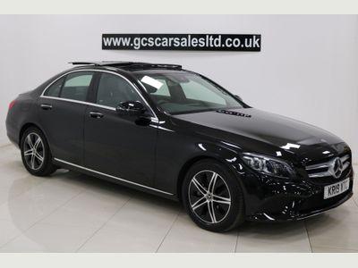 Mercedes-Benz C Class Saloon 2.0 C220d Sport (Premium Plus) G-Tronic+ (s/s) 4dr