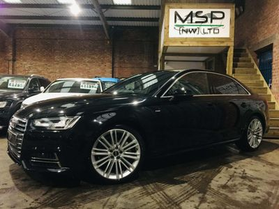 Audi A4 Saloon 3.0 TDI V6 S line S Tronic (s/s) 4dr