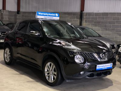 Nissan Juke SUV 1.2 DIG-T Acenta Premium Manual 6Spd (s/s) 5dr