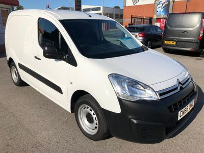 CITROEN BERLINGO Panel Van 1.6 BlueHDi L1 625 LX Panel Van 5dr (EU6)