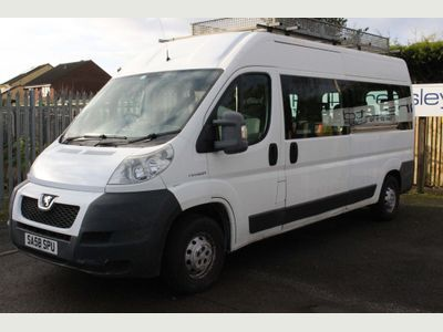 Peugeot Boxer Window Van 16 Seat Mini Bus