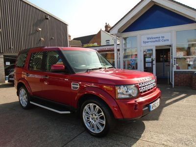 Land Rover Discovery 4 SUV 3.0 SD V6 HSE 5dr