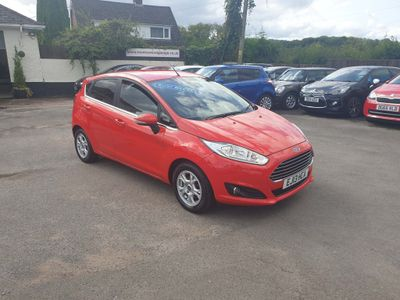 Ford Fiesta Hatchback 1.6 TDCi ECOnetic Titanium (s/s) 5dr