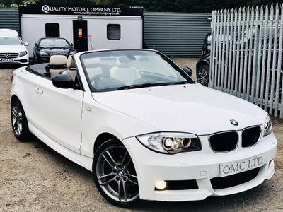 BMW 1 Series Convertible 2.0 120d Sport Plus Edition Auto 2dr