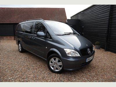 Mercedes-Benz Vito Other 2.1 CDI Dualiner Compact Panel Van 5dr (5 Seats)