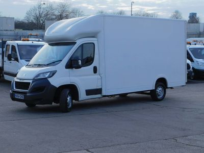 Peugeot Boxer Luton 2.2HDI 130PS LUTON LOWLOADER F/S/H