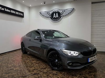 BMW 4 Series Coupe 3.0 430d Luxury Auto 2dr