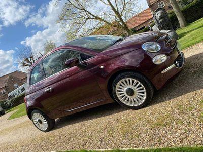 Fiat 500 Hatchback 1.2 8V Lounge (s/s) 3dr