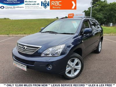 Lexus RX 400h SUV 3.3 Executive Limited Edition CVT 5dr