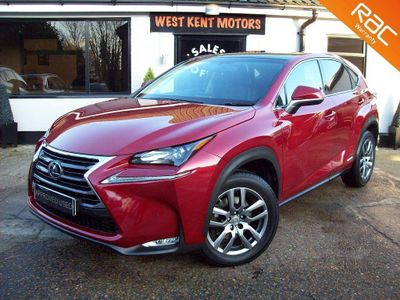 Lexus NX 300h SUV 2.5 Luxury (Convenience Pack) E-CVT 4WD 5dr (Nav, Pan roof)