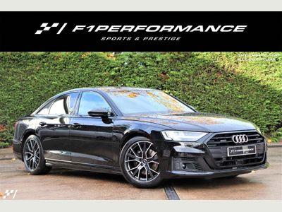 Audi A8 Saloon 3.0 TDI V6 50 Black Edition Tiptronic quattro (s/s) 4dr