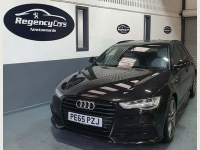 Audi A6 Avant Estate 2.0 TDI ultra Black Edition Avant (s/s) 5dr