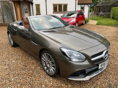 Mercedes-Benz SLC Convertible 1.6 SLC180 AMG Line G-Tronic (s/s) 2dr