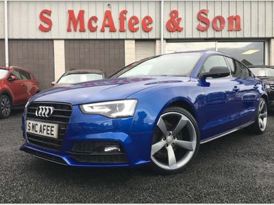 AUDI A5 Hatchback 2.0 TDI Black Edition Plus Sportback 5dr