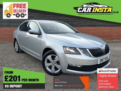 SKODA Octavia Hatchback 1.6 TDI CR SE Technology (s/s) 5dr
