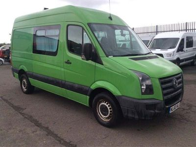Volkswagen Crafter Combi Van 2.5 BlueTDI CR35 High Roof Van 4dr (MWB)