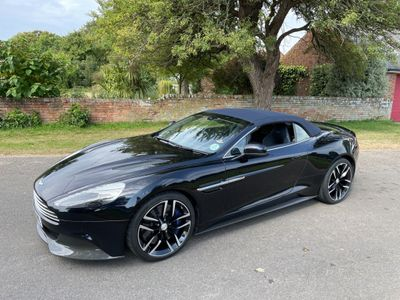 Aston Martin Vanquish Convertible 5.9 V12 Volante Touchtronic III 2dr