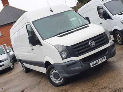 Volkswagen Crafter Panel Van 2.0 TDI CR35 High Roof Van 4dr (LWB)