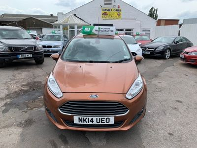 FORD FIESTA Hatchback 1.6 TDCi ECOnetic Titanium 3dr