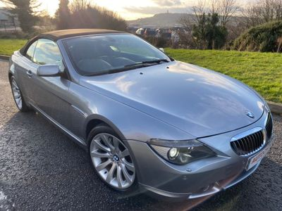 BMW 6 Series Convertible 4.8 650i 2dr