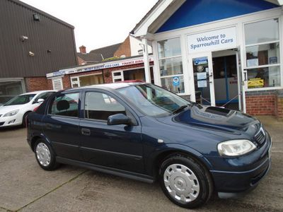 Vauxhall Astra Hatchback 1.6 i Club 5dr (a/c)