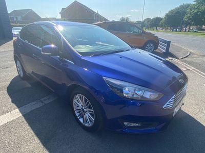 Ford Focus Hatchback 1.0T EcoBoost Zetec Edition (s/s) 5dr