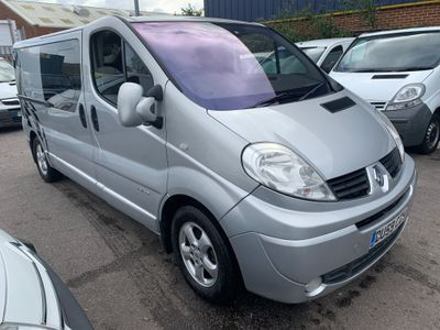 Renault Trafic Other 2.5 TD dCi LL29 Crew Van QS6 4dr