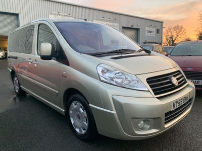 Fiat Scudo Other 2.0 JTD MultiJet L2H1 Panorama Family 5 Seater 5dr (LWB)