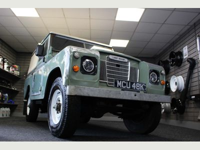 Land Rover Series III SUV 2.3 D 88 Hard Top
